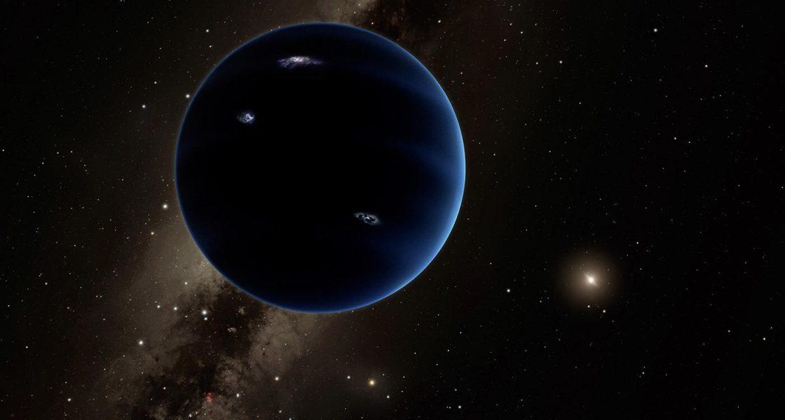 Что если Планета 9 - черная дыра?